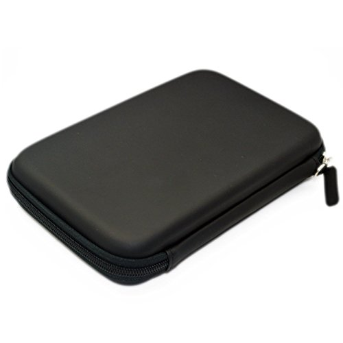 7'' Inch Hard Carrying Travel GPS Bag Pouch GPS Case Cover Protective for 6'' 7'' GPS Navigation Garmin Nuvi 65LMT 2797lmt 2798LMT 2757LM 2789 Dezl 760lmt Tomtom Magellan Roadmate GPS Devices Black by Teaeshop