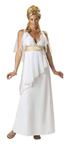 Adult Mythical Costumes Goddess (Greek Goddess Adult Costume Size:)