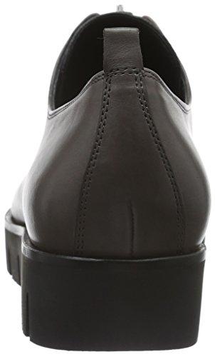 Kennel E Schmenger Schuhmanufaktur Milla Ladies Slipper Grey (nero Talpa / Canna Di Fucile Nero 633)