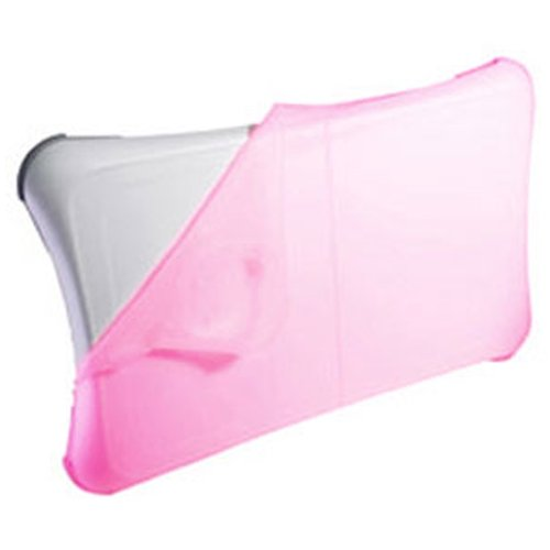 Wii Silicone Skin Cover Case (iShoppingdeals - for Nintendo Wii Fit Balance Board Silicone Cover Skin Case, Pink)