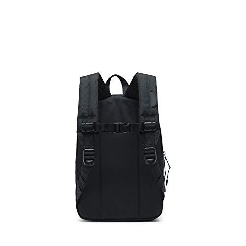 31vpIWyRz2L - Herschel Heritage Backpack, Black/Black