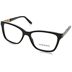 Versace VE3192B Eyeglass Frames GB1-54 - Black VE3192B-GB1-54