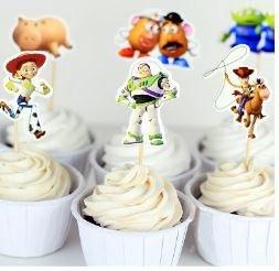 Toy Story Cupcake Picks Set of 12]()