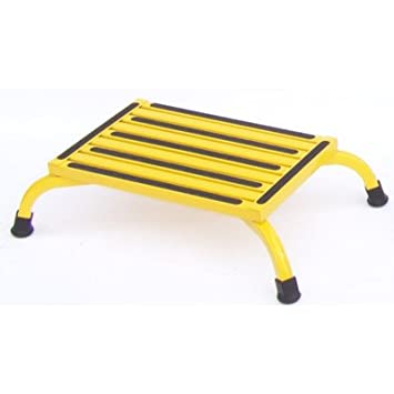 Aluminum Safety Bariatric Low Step Stool with 1000 lb. Load Capacity Color Yellow  sc 1 st  Amazon.com & Amazon.com: Aluminum Safety Bariatric Low Step Stool with 1000 lb ... islam-shia.org