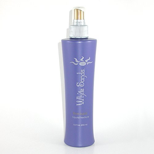 White Sands Liquid Texture Firm Hold, Non-Aerosol Hair Spray Heat Protection Styling With Maximum Volume 255mlFor Blow Drying and Styling Firm Hold ()