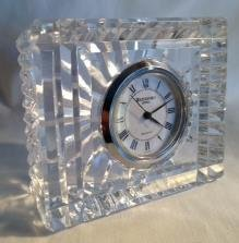 Waterford Crystal Small Rectangular Clock