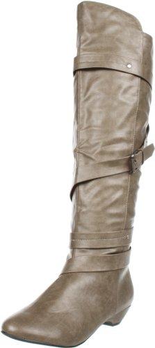 Madden Girl Women's Zippedd Wedge Boot