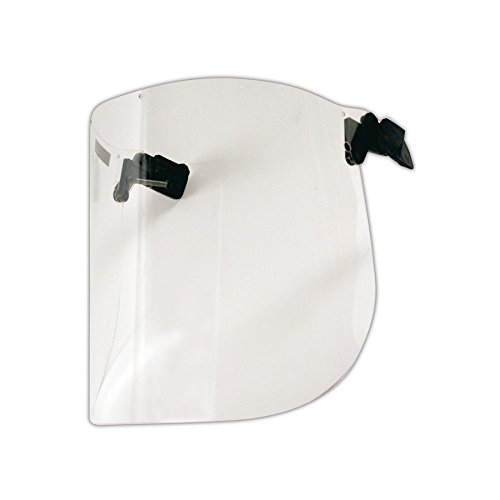 3M 10093045936202 Peltor V2C10P Cap Mounted Polycarbonate Face Shield, 15