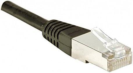 Dexlan 49,2ft Cat5E RJ45 FTP CCA Patch Cable Black