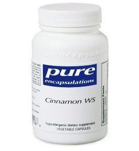 Pure Encapsulations - Cinnamon WS - Patented Water-Soluble Extract for Healthy Glucose Metabolism* - 60 Capsules