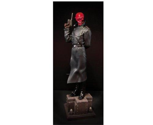 Red Skull Statue (Bowen Designs Captain America RED SKULL FULL SIZE Statue! RARE!)