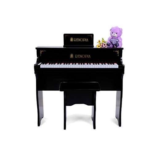 KINGLING-piano Children's Piano 61 Key Baby Children Beginner Electric Piano Wooden Early Education Toy Keyboard (Color : Black) by KINGLING-piano (Image #6)