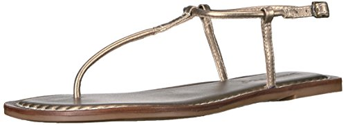 Bernardo Womens Sandals - Bernardo Women's Lilly Flat Sandal, Platinum, 7 M US