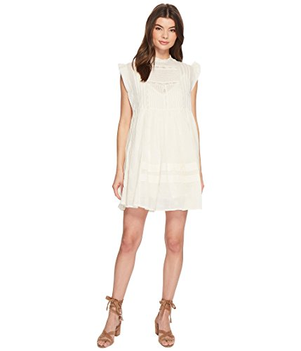 Free People Women's Nobody Like You Embroidered Mini Dress Ivory Large