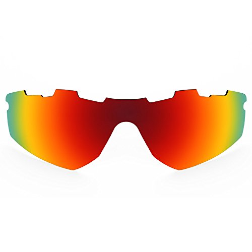 Revant Polarized Replacement Lenses for Oakley Radar (Sprint) Vented Fire Red MirrorShield