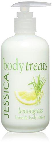 Jessica Body Treats Cream, Lemongrass, 8.3 Fl Oz