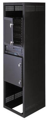 Vented Security Door for Rackmount Rack Height: 21'' H (12U Space) by Middle Atlantic