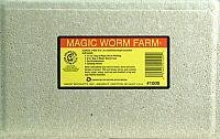 Magic Bait 1000 Worm Farm with Bedding and Food Storage Box, Yellow, Outdoor Stuffs