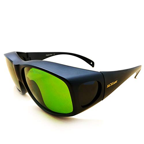 OD5+ 190-470nm & 800-1700nm Laser Protective Goggles CE Eaglepair EP-8-9 1064nm