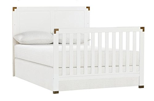 Full Size Conversion Kit Bed Rails for Baby Relax Edgemont, Miles & Rivers Cribs by Dorel Living - White by CC KITS (Image #4)