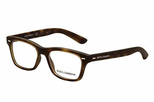 Dolce   Gabbana Montures de lunettes 5014 Pour Homme Semi-Transparent Black  Rubber, 52mm 7c735f90d4ee