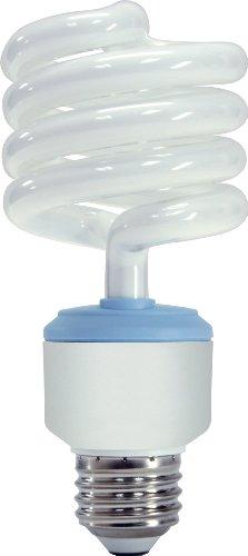 GE Lighting 62908 Reveal CFL 3-way 16/25/32-Watt (150-watt replacement) 540/1440/1935-Lumen T3 Spiral Light Bulb with Medium Base, 6-Pack ()