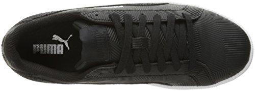 Puma Mens Smash Deboss Fashion Sneaker Puma Black-puma Black