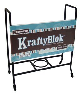 kraftyblok-6-inch-by-6-inch-sturdy-steel-display-stand