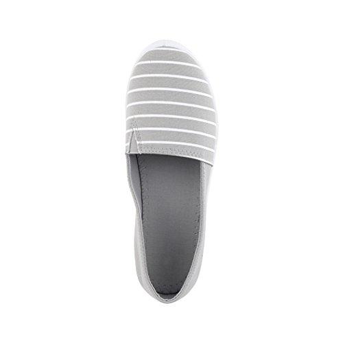 Zapatillas casa de Paris Grau Mujer Elara A4dWgA