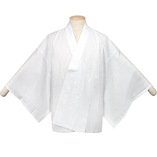 KYOETSU Mens Japanese Summer Kimono Undergarment Short Type Hanjuban