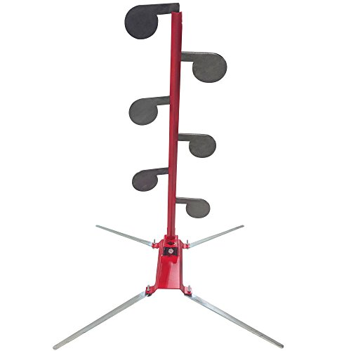 Titan No-Weld Dueling Tree Kit with AR500 Steel Paddle Targets and Safety Stand