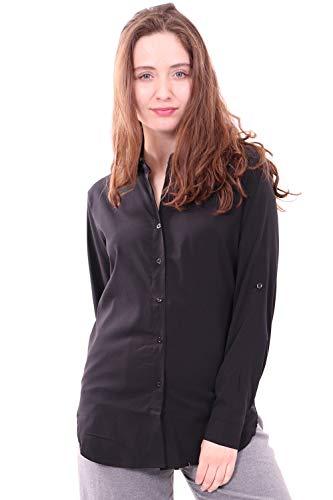 WuhouPro Womens Super Stretch Blouse Shirts AZ 5000 Black M
