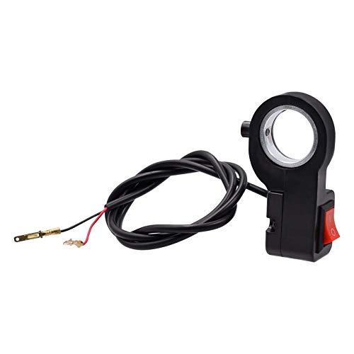 Wenwenzui-ES Cuerno del indicador de la luz de la se/ñal de Vuelta del Interruptor de Control del Manillar de la Motocicleta de 12V DC