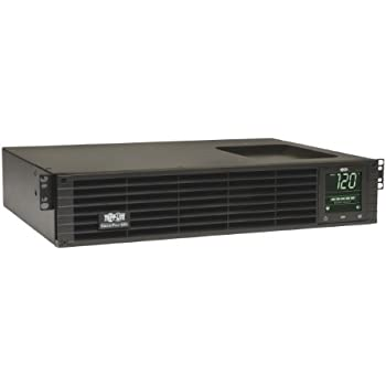 Tripp Lite 1500VA Smart UPS Back Up, Sine Wave, 1350W Line-Interactive, 2U Rackmount, Extended Run Option, LCD, USB, DB9 (SMART1500RMXL2UA)