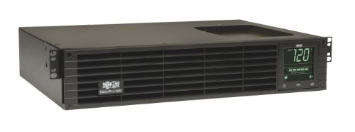 Tripp Lite 1500VA Smart UPS Back Up, Sine Wave, 1350W Line-Interactive, 2U Rackmount, Extended Run Option, LCD, USB, DB9 (SMART1500RMXL2UA) by Tripp Lite