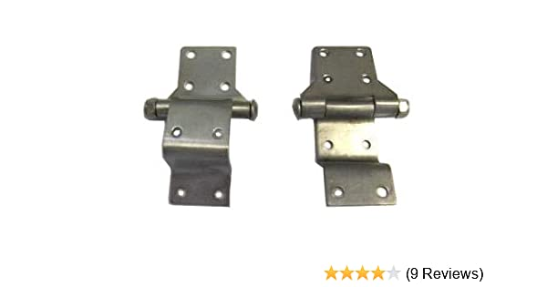 Stainless Steel Hinges for Harley Davidson Tour Pack Chopped//Razor//King