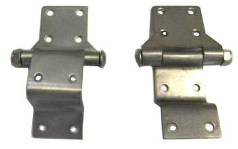 Stainless Steel Hinges for Harley Davidson Tour Pack and Police Hard Saddlebags Chopped//Razor//King