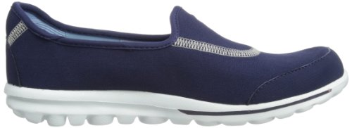 Skechers Performance Damen Go Walk Slip-On Wanderschuh Marine