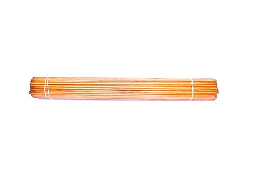 Rose City Archery Port Orford Cedar Premium Shafts (100 Count), 11/32-Inch Diameter/30 1/2-Inch Length/45-50-Pound Spine, Mahogany Stain