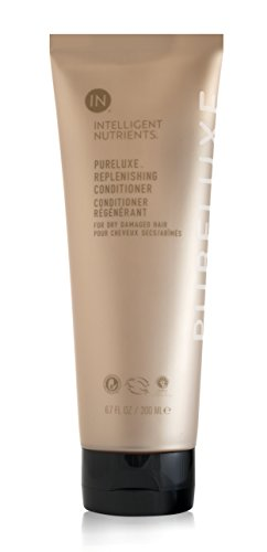 Intelligent Nutrients PureLuxe Replenishing Conditioner - Baobab Protein Conditioning Treatment for Dry & Damaged Hair, Silicone & Sulfate-Free (6.7 oz)