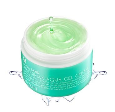 COSMETICS coréen, MIZON_ eau Max Aqua Gel Crème 125ml (concentré l'apport d'humidité, de blanchiment, sans huile, haute capacité) [001KR]