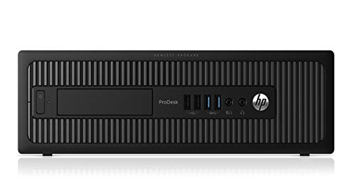 HP ELITEDESK 800 G1 SFF Slim Business Desktop Computer, Intel I54570 3.20 GHz, 8GB RAM, 500GB HDD, DVD, USB 3.0, Windows 10 Pro 64 Bit (Renewed)