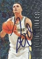 Todd Fuller Golden State Warriors 1996 Fleer Metal Autographed Card - Rookie Card. This item comes with a certificate of authenticity from Autograph-Sports. Autographed ()