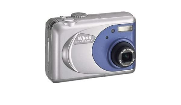 Nikon COOLPIX 2000 - Cámara Digital Compacta 2 MP: Amazon.es ...