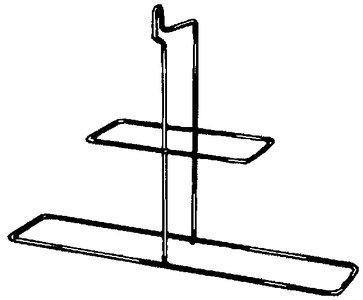JIM BUOY 921 Stainless Steel Rack fits 920 & 1020 Horsehoe Buoy ()