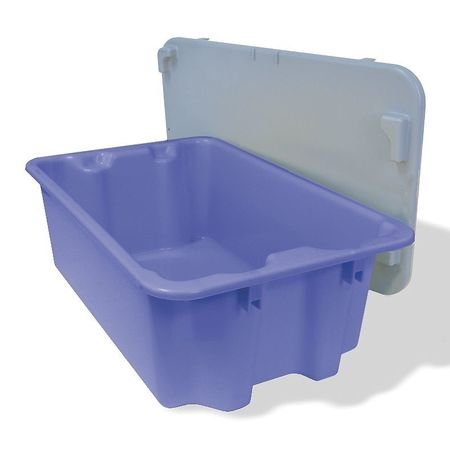 (Stack and Nest Container, Blue, 22)