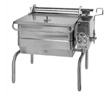 Gas Tilt Skillet (Blodgett 30G-BLT Braising Pan Gas 30-gallon capacity manual tilt 104,000 BTU)