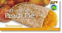 (JJ's Bakery Lightly Glazed Snack Pies 4oz (Pack of 6) (Peach))