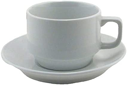 Bia Cordon Bleu Bistro Cup And Saucer Set Of 4 White Teacup With Saucer Cup Saucer Sets