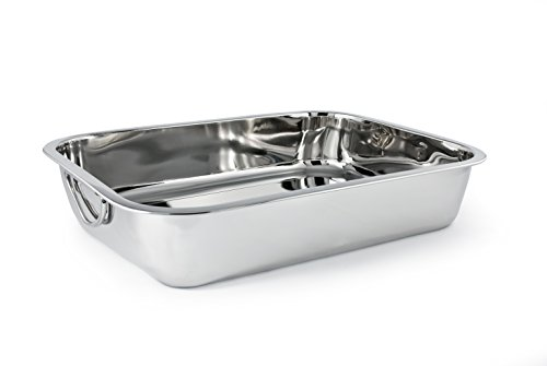 Cuisinox PAN-30 Rectangular Roasting Pan, 30 by 21cm